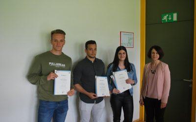 Zlati in srebrni na državnem tekmovanju  v znanju poslovne matematike in statistike  v letu 2019