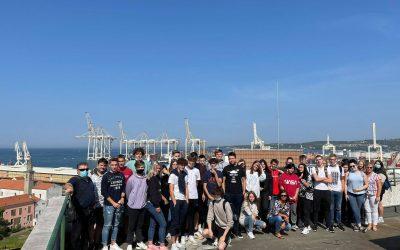 Strokovna ekskurzija logistov v Luko Koper